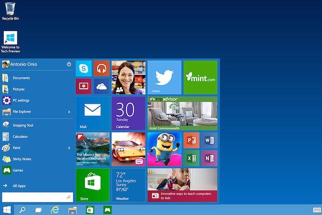 Milion pobrań Windowsa 10