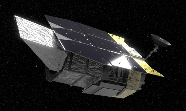 Nancy Grace Roman Space Telescope (WFIRST) - wizualizacja