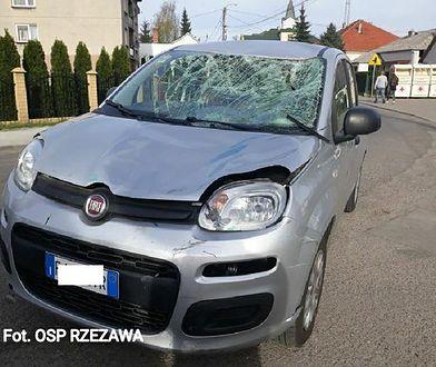 Dramat w Rzezawie. Kierowca już raz zabił na drodze