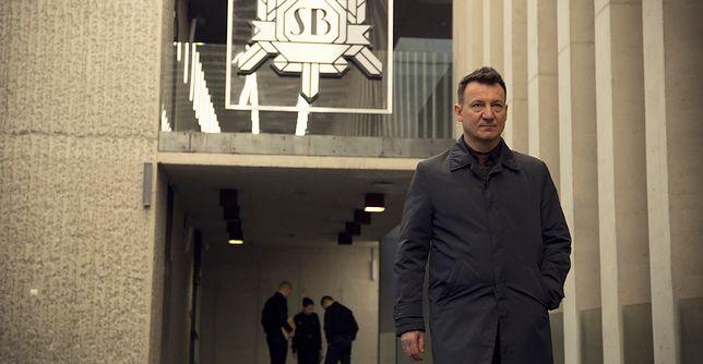 Robert Więckiewicz jako oficer śledczy w świecie, w którym wciąż istnieje żelazna kurtyna