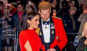 Meghan Markle i książę Harry pożegnali się z fanami