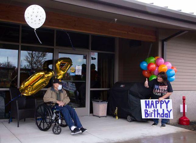 Koronawirus w USA. Wyzdrowiał 104-latek z Oregonu. Jest weteranem II wojny światowej