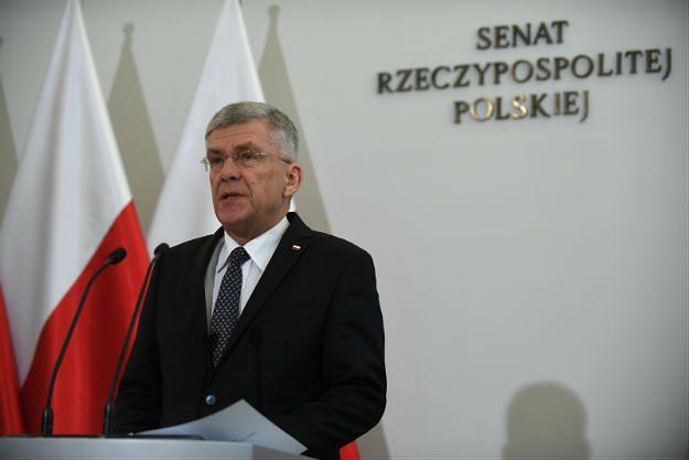 Stanisław Karczewski: obrona Michała Szczerby to obrona chamstwa