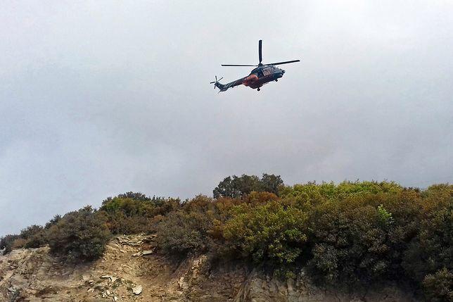 Wojskowy śmigłowiec runął na ziemię w Grecji