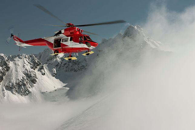Lawina w Tatrach. Pod śniegiem mogą być uwięzione trzy osoby. TOPR jest już w drodze.