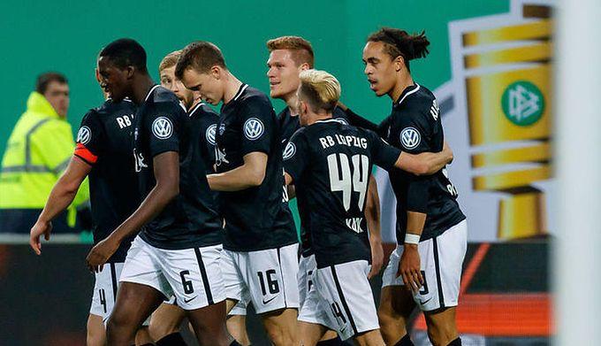 bd712164c Puchar Niemiec: bez niespodzianki w Hamburgu. RB Lipsk pierwszym finalistą