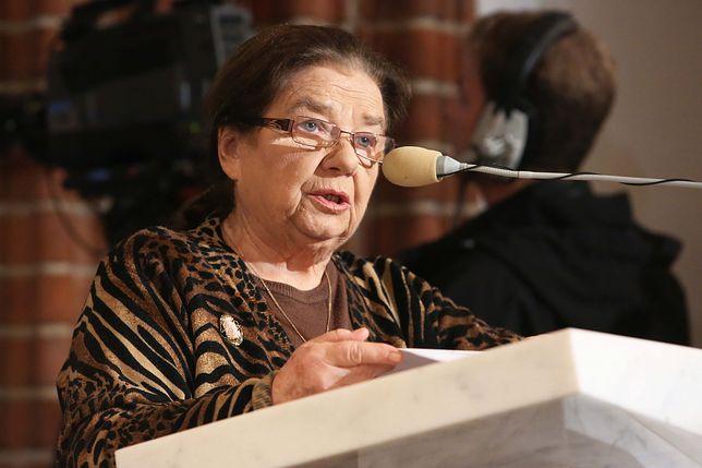 """Aktorka """"Plebanii"""" o protestach pod Sejmem: """"To ostatni ruch rozdeptanego robaka"""""""