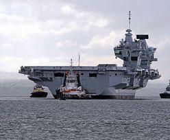 """Wielka Brytania się nie cofa. Wysyła na Pacyfik """"najpotężniejszy okręt"""" i flotę"""