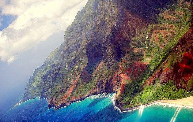Nā Pali, Kauai,  Hawaje