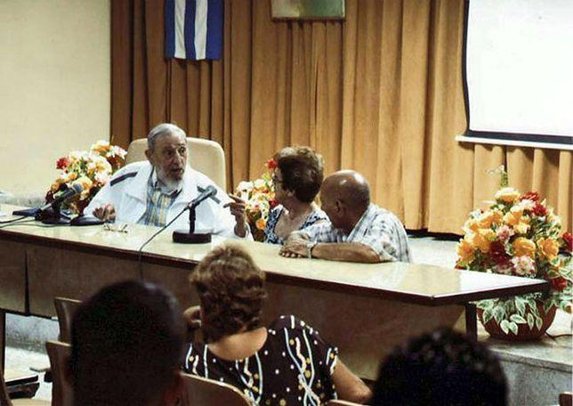 Fidel Castro na spotkaniu z serowarami