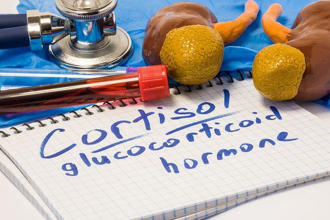 Kortyzol to hormon stresu wytwarzany w korze nadnerczy.
