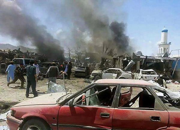 89 ofiar zamachu na wschodzie Afganistanu