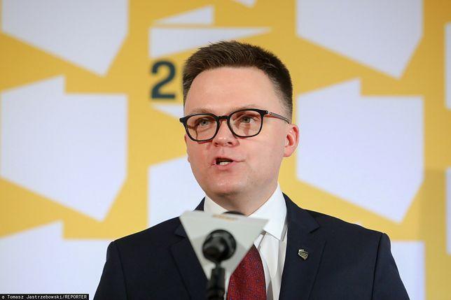 Szymon Hołownia o rejestracji nazwy partii Polska 2050