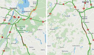 Korki na A1 i S3. Polacy ruszyli na długi weekend