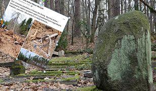 Dewastacja na zabytkowym cmentarzu. Sprawcą proboszcz jednej z parafii?
