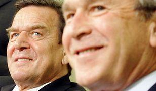 Schroeder ostrzega Busha przed kolejną wojną