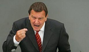 """""""Schroeder pcha się do władzy"""""""