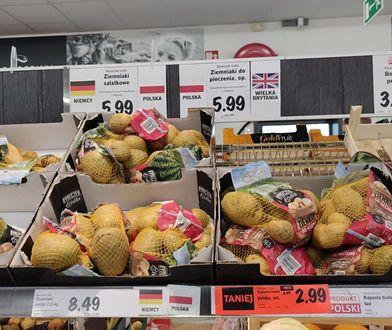 Wiosną w polskich sklepach jest mnóstwo importowanych ziemniaków. W czerwcu powinny dominować już te polskie
