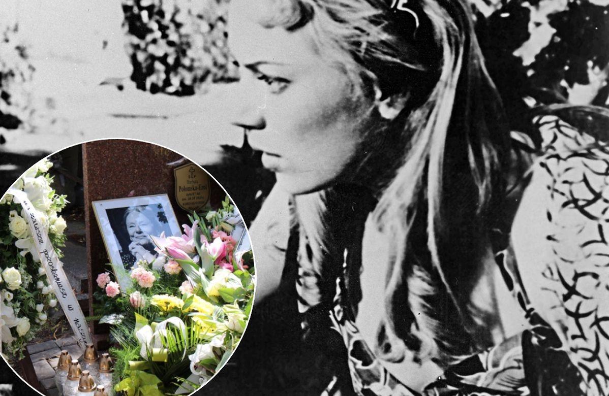 Barbara Połomska została pochowana 2 sierpnia 2021 r.