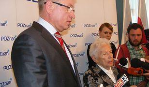 Jacek Jaśkowiak i Aleksandra Banasiak.