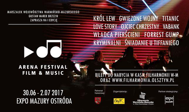 Arena Festival Film & Music w Ostródzie. Trzy dni święta muzyki filmowej