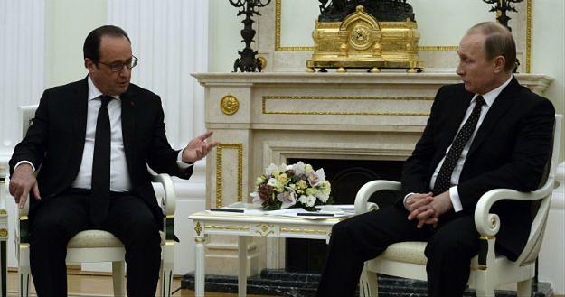 Francois Hollande: będziemy wymieniać z Rosją dane wywiadowcze w sprawie IS