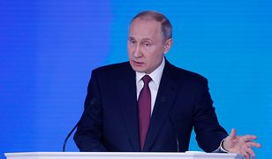 """Coroczne przemówienie Putina. """"Mamy nową superbroń"""""""