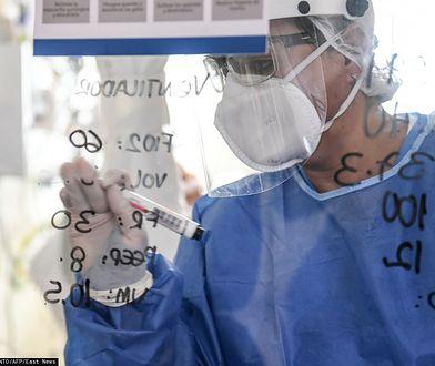 To pierwsze takie na świecie badanie związane z koronawirusem (JOAQUIN SARMIENTO)