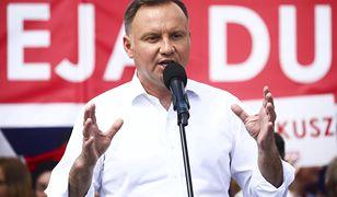 Andrzej Duda pochwalił polską policję. Fala oburzenia w sieci