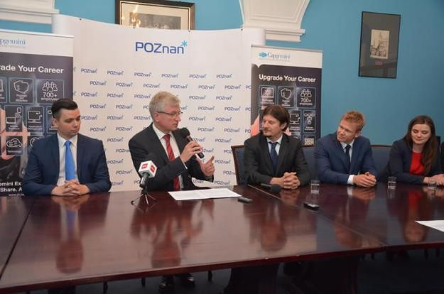 Nowe centrum informatyczne firmy Capgemini w Poznaniu zatrudni 300 osób