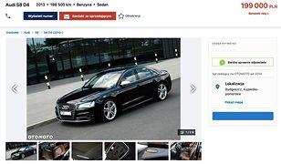 Audi S8 wystawione na ogłoszeniu o numerze  6064893314
