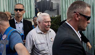 Cenckiewicz zamieścił na Twitterze zdjęcie Lecha Wałęsy