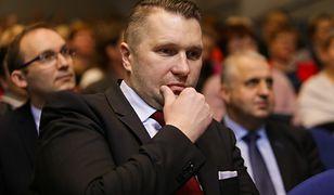 Przemysław Czarnek (na zdjęciu) może spodziewać się pozwu od szefa Towarzystwa Ukraińskiego w Lublinie