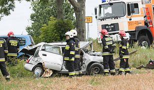 Tragiczny wypadek w miejscowości Marwice