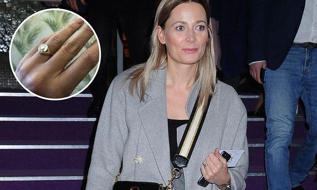 Odeta Moro pochwaliła się pierścionkiem