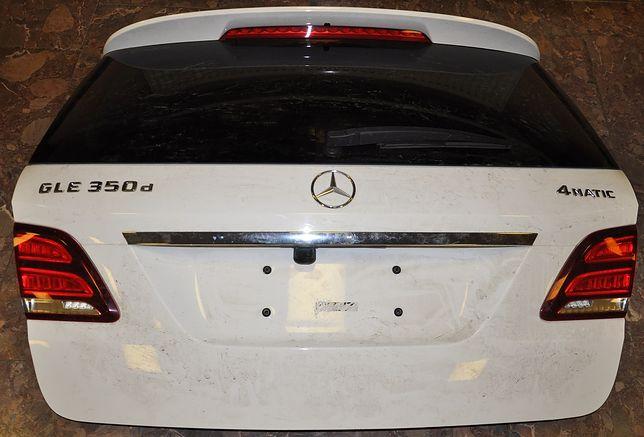 Pokrywa bagażnika z Mercedesa