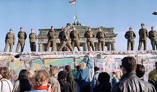 Mur Berliński w 1989 roku