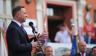 Prezydent Andrzej Duda broni Beaty Szydło przed krytyką Donalda Tuska