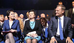 Ewa Kopacz, Hanna Gronkiewicz-Waltz i Donald Tusk