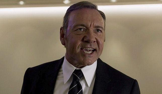 """Chyba najbardziej znany serialowy amerykański prezydent. Kevin Spacey jako Frank Underwood (""""House of Cards"""")"""