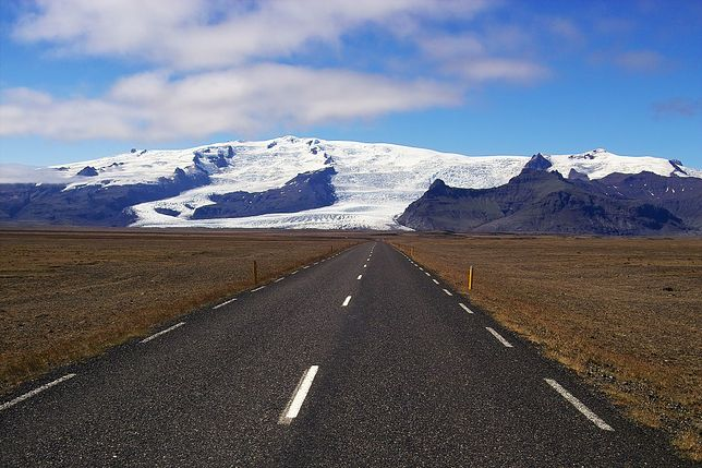 Islandia obfituje w piękne wulkany.