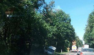Do wypadku doszło w miejscowości Gołaszyn (woj.lubelskie) na drodze krajowej nr 63 między Siedlcami a Łukowem
