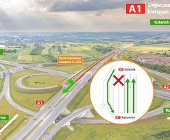 A1. Węzeł Łódź Północ będzie remontowany. Uwaga na spore utrudnienia!