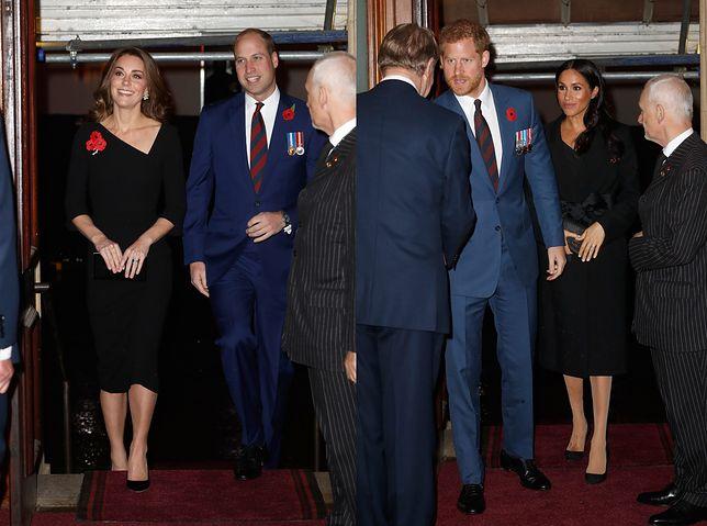 Książę William i Harry oraz ich żony nie mogli ominąć tej uroczystości