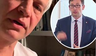 """Żebrowski nabija się z prezesa Orlenu. Zacytował """"Pana Tadeusza"""""""