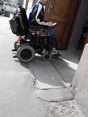 Tor przeszkód dla niepełnosprawnych - zobacz zdjęcia
