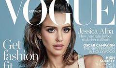 """Jessica Alba na okładce """"Vogue Australia"""""""