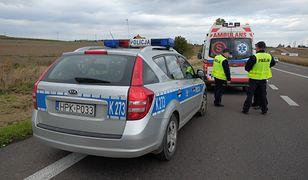 Wypadek na drodze krajowej nr 1