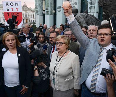W walce o Sąd Najwyższy opozycja potrzebuje jednego głosu, charyzmatycznych liderów i wyrazistej opinii. Prof. Małgorzata Gersdorf tej walki nie ułatwia