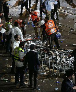 Tragedia w Izraelu. Kilkadziesiąt osób zginęło w ścisku podczas święta religijnego